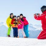 Skifahren mit der Familie (Bild: © Daniel Zangerl)