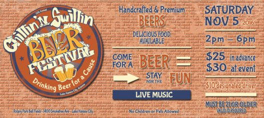 Chillin'n Swillin Beer Festival Lake Havasu City