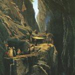 Baden in der Taminaschlucht zur Zeit von Paracelsus
