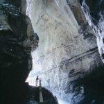 Wanderweg in der Taminaschlucht