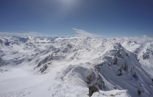 Winterlandschaft in Hochfügen