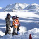 Skikindergarten (Bild: © Lenk Simmental Tourismus - swiss-image.ch/Stefan Hunziker)