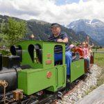 Zug fahren (Bild: © Lenk Simmental Tourismus - swiss-image.ch/Stefan Hunziker)