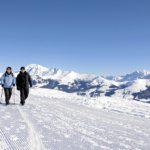 Winterwanderer (Bild: © Lenk Simmental Tourismus - swiss-image.ch/Mathias Kunfermann)