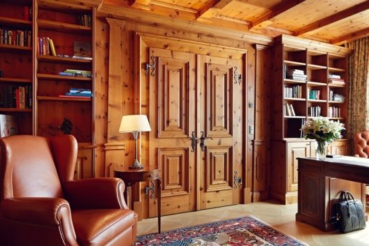 Hans Badrutt Suite - Bücherei