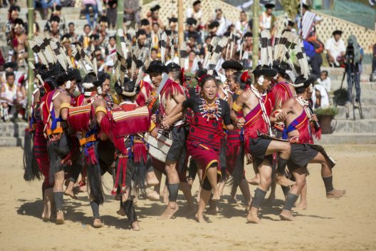 Traditioneller Tribal Tanz - Kohima, Indien (Bild: © David Evison - shutterstock.com)