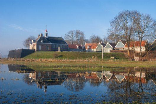 Die ehemalige Insel Schokland war das erste UNESCO -Weltkulturerbe in den Niederlanden. (Bild: © jstuij - shutterstock.com)