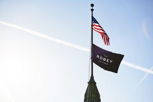 Besonders eindrucksvoll ist das Art Déco Gebäude des Robey Hotels.