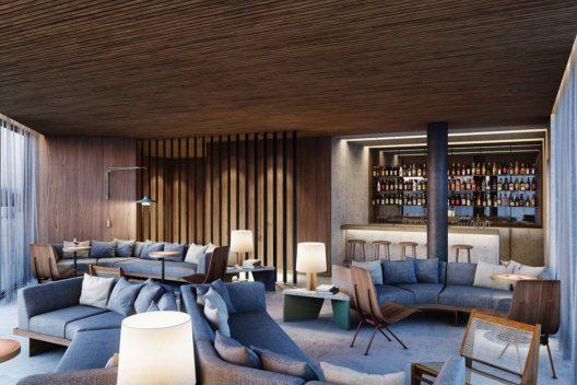 Bar im Innenbereich