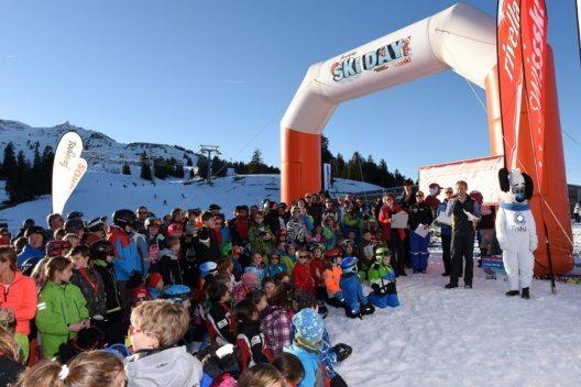Famigros Ski-Day – Siegerehrung