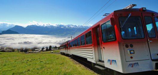 Die beliebten RIGI Bahnen konnten einen Quartalsrekord erzielen.