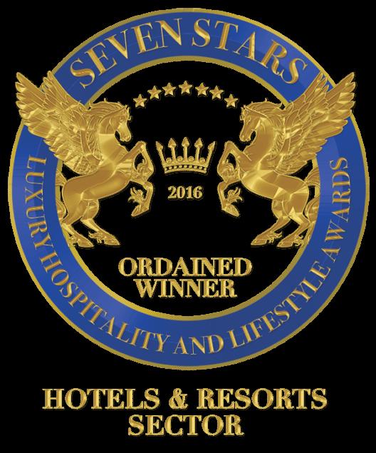 """Auszeichnung in der Kategorie """"Hotels & Resorts"""""""