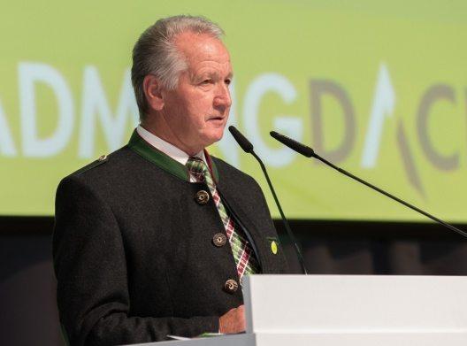 Helmut Schrempf, Obmann der Region Schladming-Dachstein, sprach am zweiten Tourismusdialog.