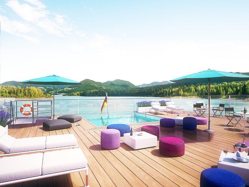 Amadeus Provence, Infinity Pool (Bild: © Eurobus AG)
