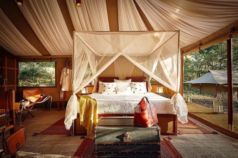 TUTC Luxus-Camp in Kohima, Nagaland (Bild: PRNewsFoto/The Ultimate Travelling Camp)