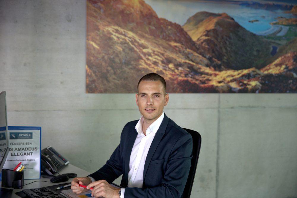 Dominik Trösch, Geschäftsführer Rivage Flussreisen (Bild: © Eurobus AG)