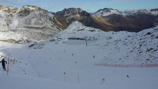 Skifahren Diavolezza