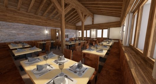 Bergrestaurant Rothorn (Bild: Zermatt Tourismus)