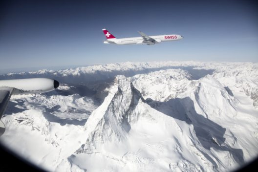 Flüge London – Sion – Zermatt (Bild: Swiss)