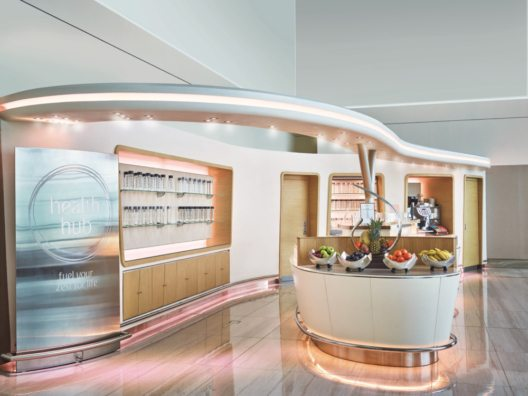 Emirates Business-Class-Lounge im neuen Look