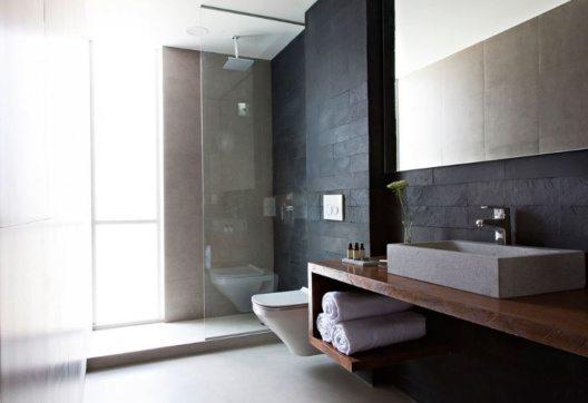 Atix Hotel – Badezimmer. (Bild: Design Hotels)