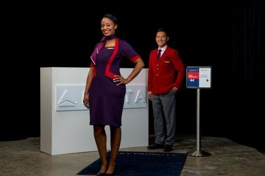 Uniformen für Delta-Mitarbeiter