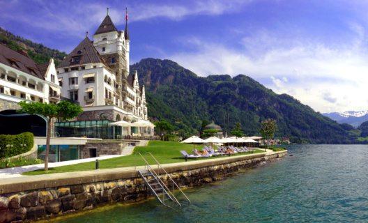 Park Hotel Vitznau in der Schweiz