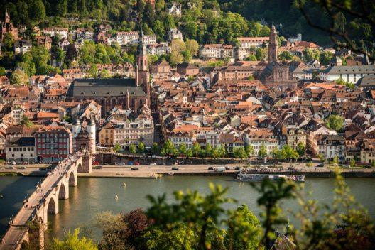 Heidelberger Sehenswürdigkeiten erringen Silbermedaille. (Bild: Heidelberg Marketing GmbH / Tobias Schwerdt)
