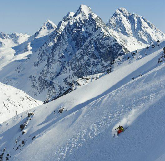 Freeriden in Davos Klosters (Bild: Destination Davos Klosters)