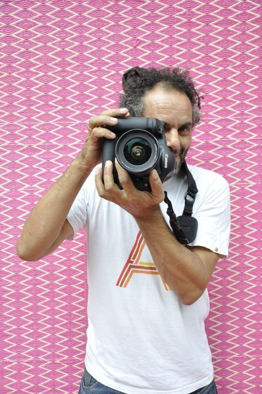Marokkanischer Fotograf und Künstler Hassan Hajjaj