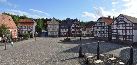 Das Freilichtmuseum Hessenpark (Bild: Karsten Ratzke, Wikimedia, CC)