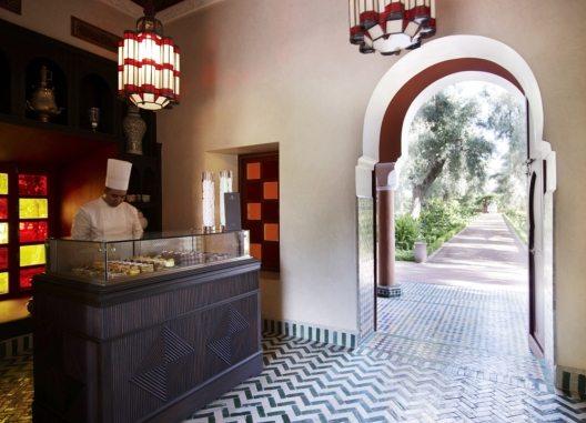 Palasthotels La Mamounia (Bild: © La Mamounia_Patisserie Entrance)