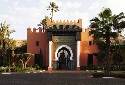 Das legendäre Palasthotel La Mamounia