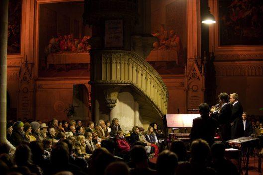 Minoritenkirche – Trompeten im Konzert. (Bild: www.lukasbeck.com)