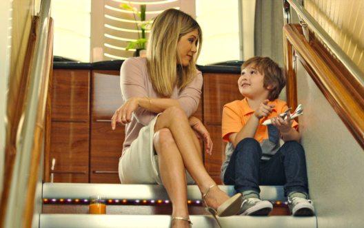 Neuer Freund für Jennifer Aniston an Bord von Emirates (Bild: Emirates)