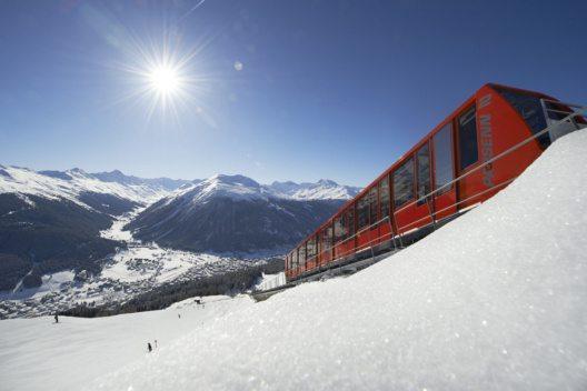 Parsennbahn – Davos Klosters. (Bild: Destination Davos Klosters)