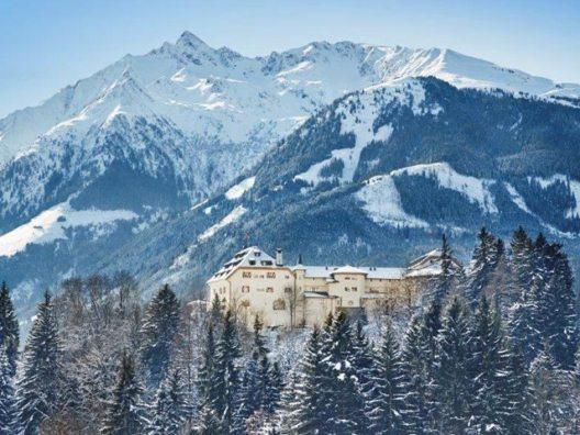 Schloss Mittersill im Winter