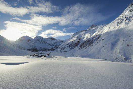 Sertig – romantisches Seitental von Davos. (Bild: Destination Davos Klosters)