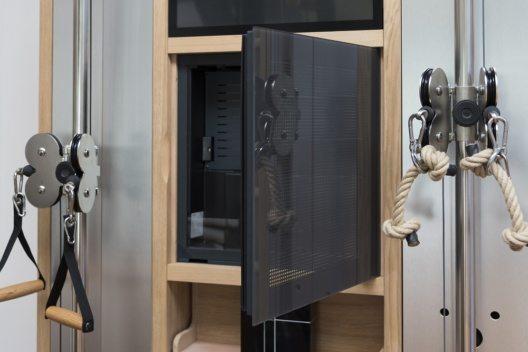 Viele Ausstattungselemente und Besonderheiten wurden exklusiv für den Vitality Room entwickelt, darunter auch die Wellbeing Wall.