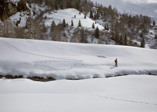 Schneeschuhwandern beim Lucknerhaus, Kals am Grossglockner, Osttirol. (Bild: ©Tirol Werbung / Heinzlmeier Bert & Monika Höfler)
