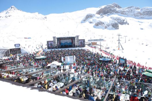 Top of the Mountain Concert in Ischgl (Bild: TVB Paznaun - Ischgl / Thirty Seconds to Mars)