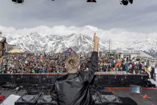 Electric Mountain Festival in Sölden (Bild: Rudi Wyhlidal, Ötztal Tourismus)