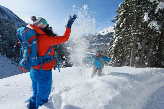 Winterwandern im Lechtal (Bild: Gerhard Eisenschink / Lechtal Tourismus)