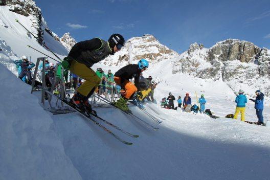Vier am Start: Die zwei Schnellsten kommen weiter. ©Deutscher Skiverband