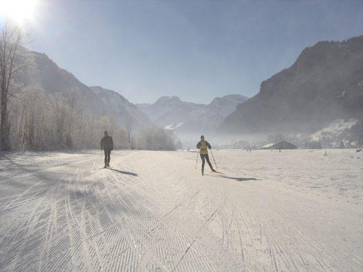 Der Töditritt von Schwanden bis Linthal misst 22 Kilometer (Bild: © Verein Langlaufloipe Töditritt)