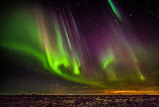 In Island darf Nordlichtern applaudiert werden. (Bild: Ragnar Th. Sigurdsson)