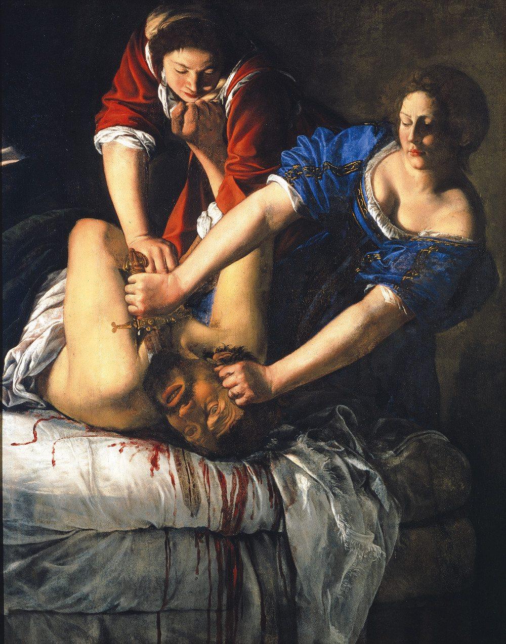 Artemisia Gentileschi (1593–1653): Judith und Holofernes, 1612-13, Museo di Capodimonte, Neapel. (Foto: © Ministero per i Beni e le attivita culturali e del turismo, Fototeca del Museo di Capodimonte, Napoli)