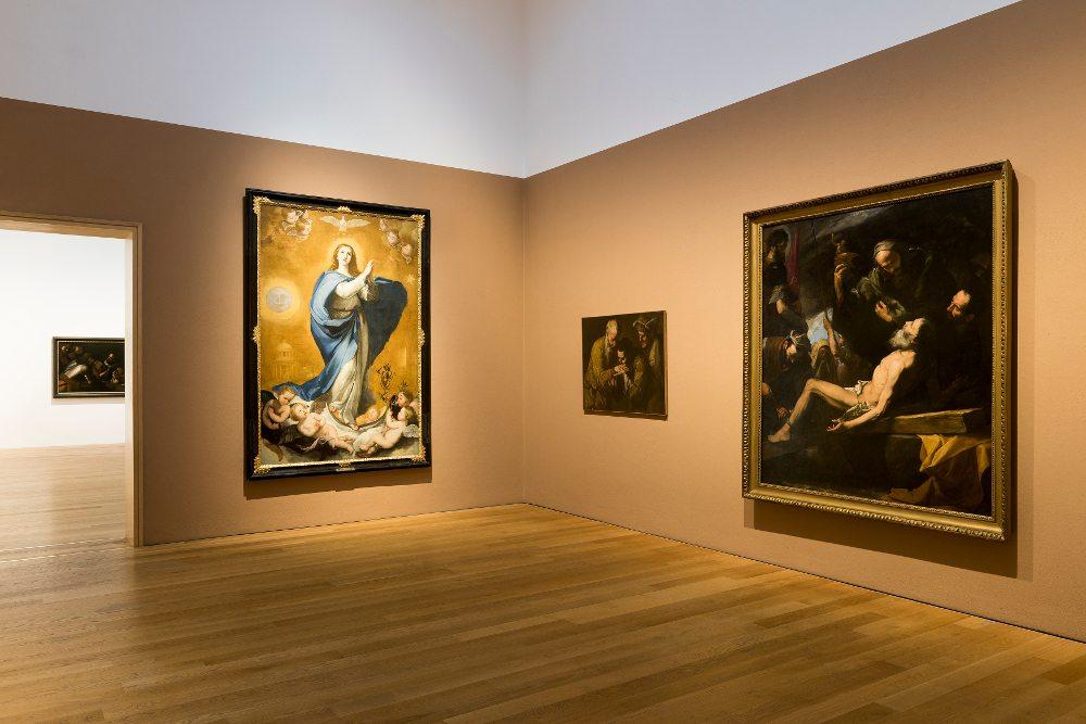 Caravaggios Erben – Barock in Neapel: Ausstellungsansicht im Museum Wiesbaden, 2016 (Foto: © Bernd Fickert)