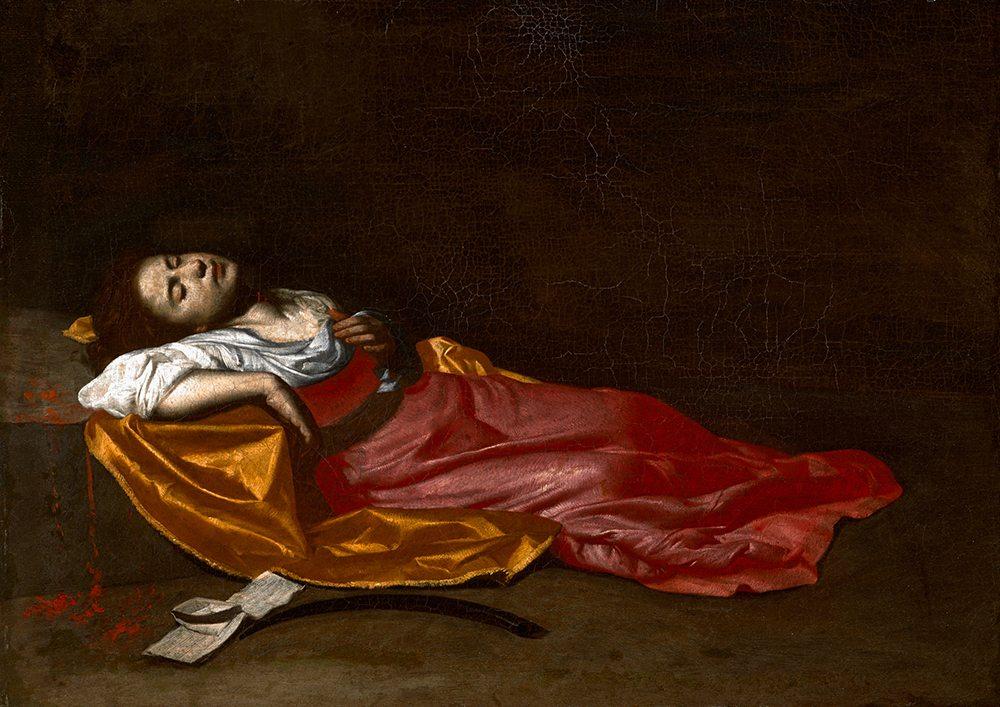 Francesco Guarino (1611-1654): Die heilige Cäcilia als Märtyrerin, um 1635-1640 (?), Musée de Grenoble (Foto: Photographie © Musée de Grenoble)