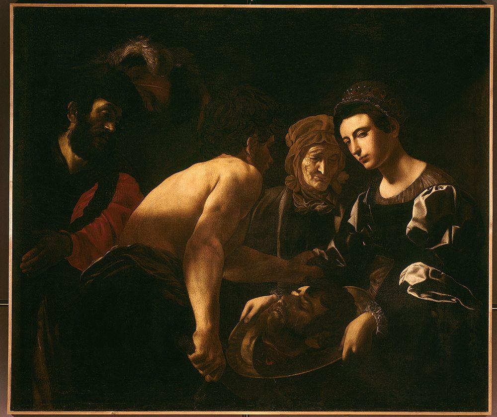 Giovanni Battista Caracciolo (1578-1636): Salome mit dem Haupt Johannes des Täufers um 1615/30 Florenz, Gallerie degli Uffizi (Foto: © bpk / Scala)